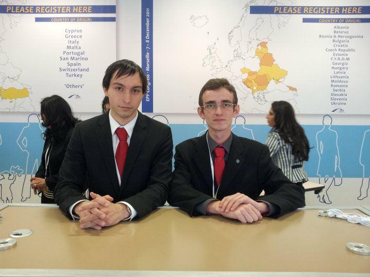 Dobrovoľníci na Kongrese EPP v Marseille